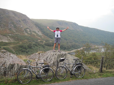 Elan Valley Dams, challenging cycling holidays