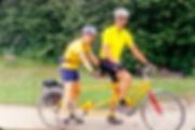 Tandem, cycling holidays
