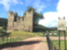 BBC Escape to the Country cycling film location in Shropshire, Hopton Castle with Wheely Wonderful Cycling