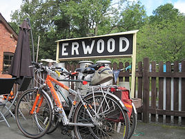 Erwood Station, bike tours in the UK