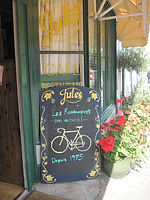 Jules Restaurant in Weobley, cycling holidays in England