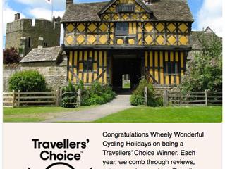 Wheely Wonderful Cycling is a TripAdvisor 2020 Travellers Choice Winner