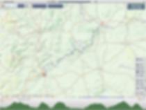 Mortimer trail, map
