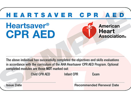 Heartsaver CPR & AED Price Increase
