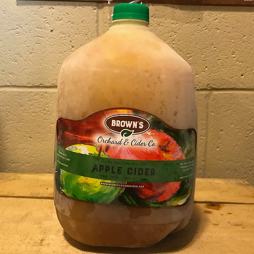 Fresh Apple Cider- Gallon