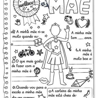 Diploma para o Dia da Mãe