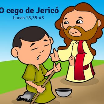 O cego de Jericó BD