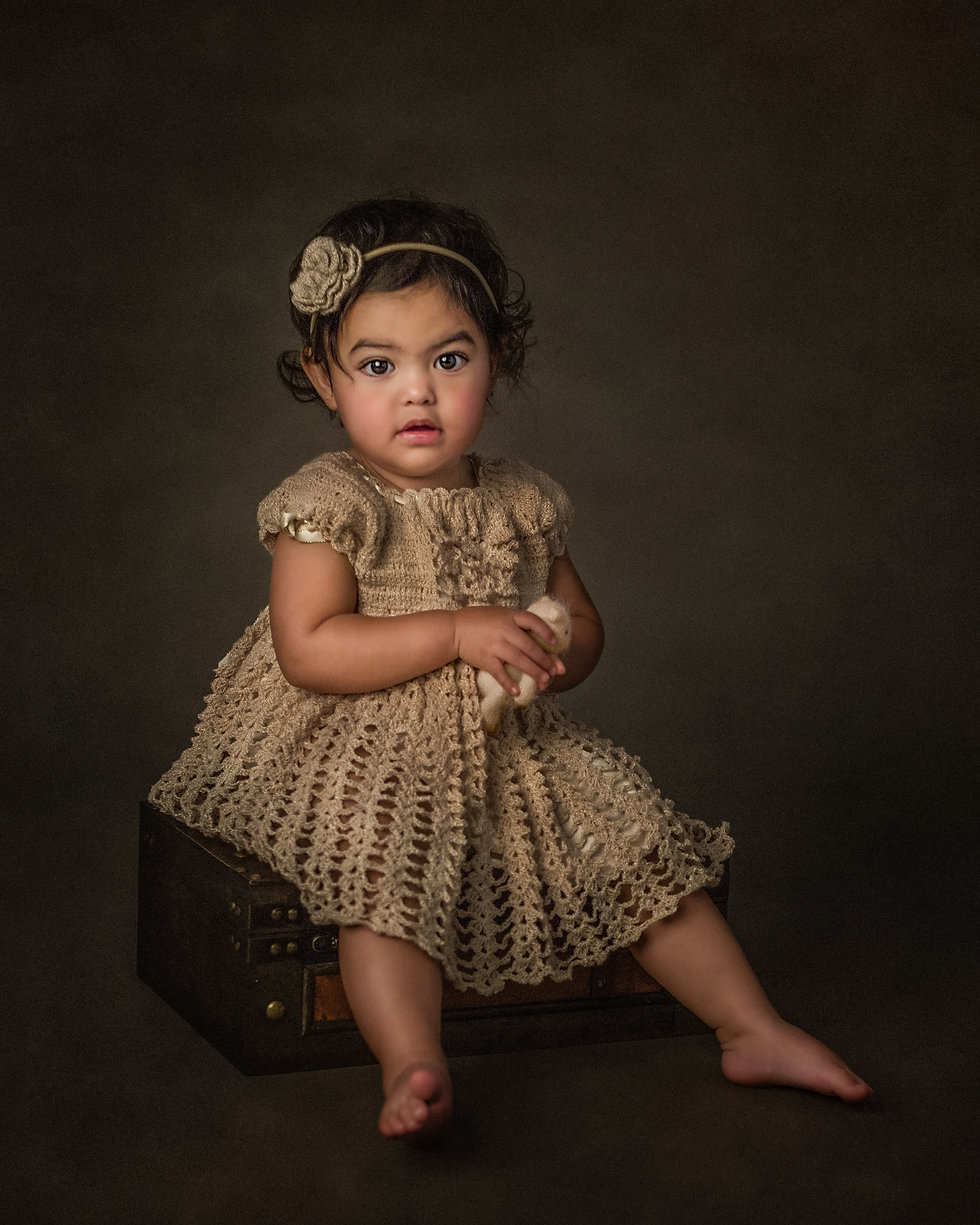 A professional image of a young girl