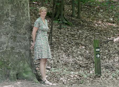 Wandelcoachen is vernieuwend in België: Mieke in een interview met Hilde Backus