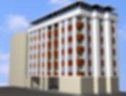 Cephesi kaplamalı bina görseli