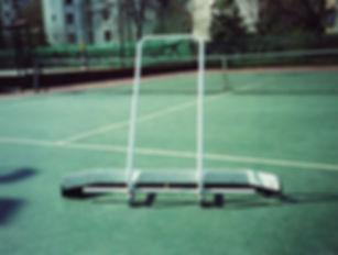 Çekpas, Kort Paspası ürünü tenis kortlarını temizlemer.