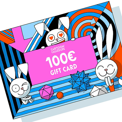 MAIL GIFT CARD 100€