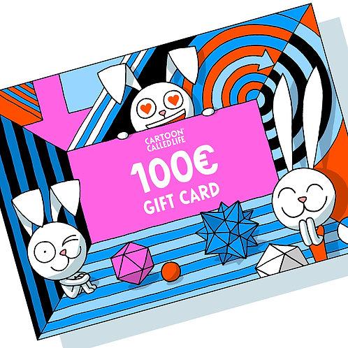 E-GIFT CARD 100€