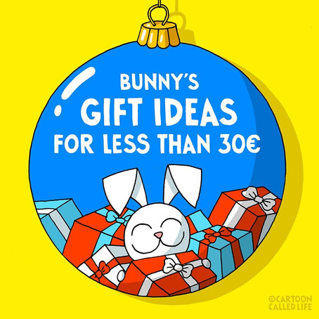 Bunny's gift ideas for less than 30€