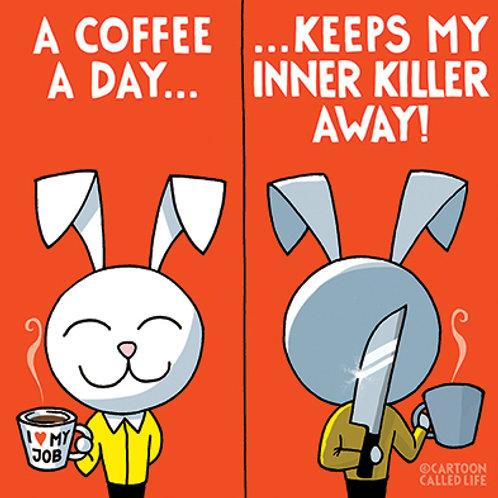 POSTCARD 'COFFEE'