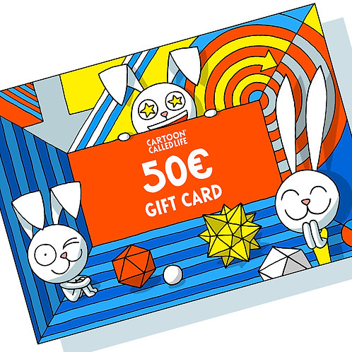 MAIL GIFT CARD 50€