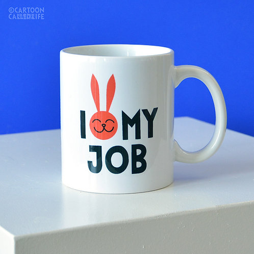 MUG 'I LOVE MY JOB'
