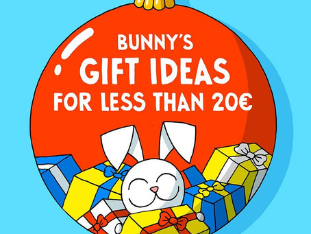 Bunny's gift ideas for less than 20€