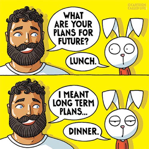 POSTCARD 'DINNER'