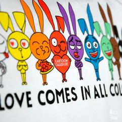 T-SHIRT 'LOVE ALL'