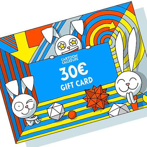 E-GIFT CARD 30€