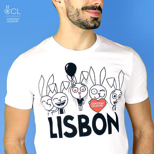 T-SHIRT 'LISBON' WHITE