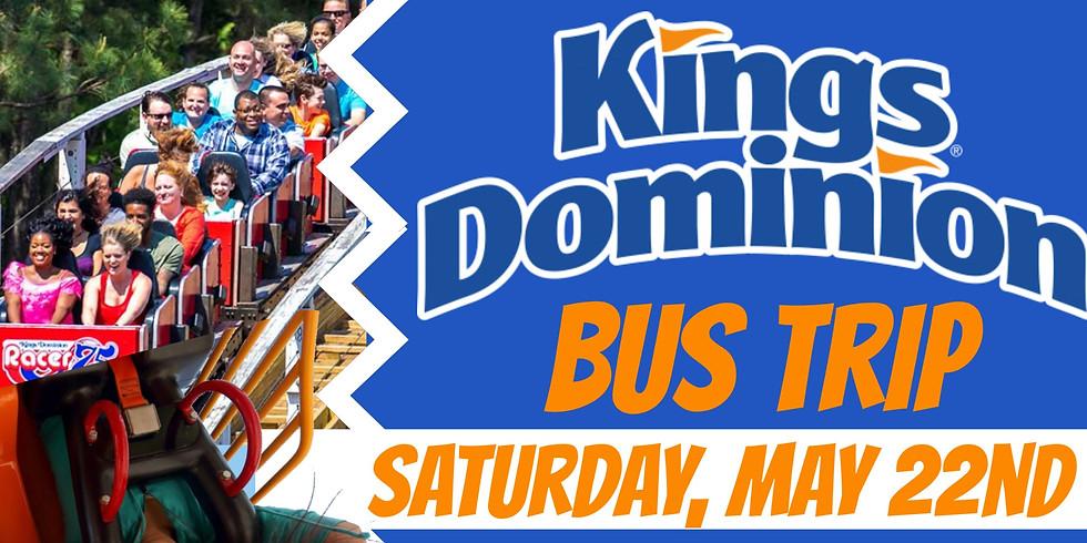 Kings Dominion Bus Trip