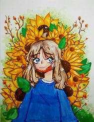 "54. Hannah Von Ah  ""Sunflowers"""
