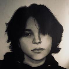 "48. HAILEY GAYA  ""Self Portrait"""