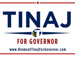 Candidate for California Klement Tinaj weighs in on education and economic reform