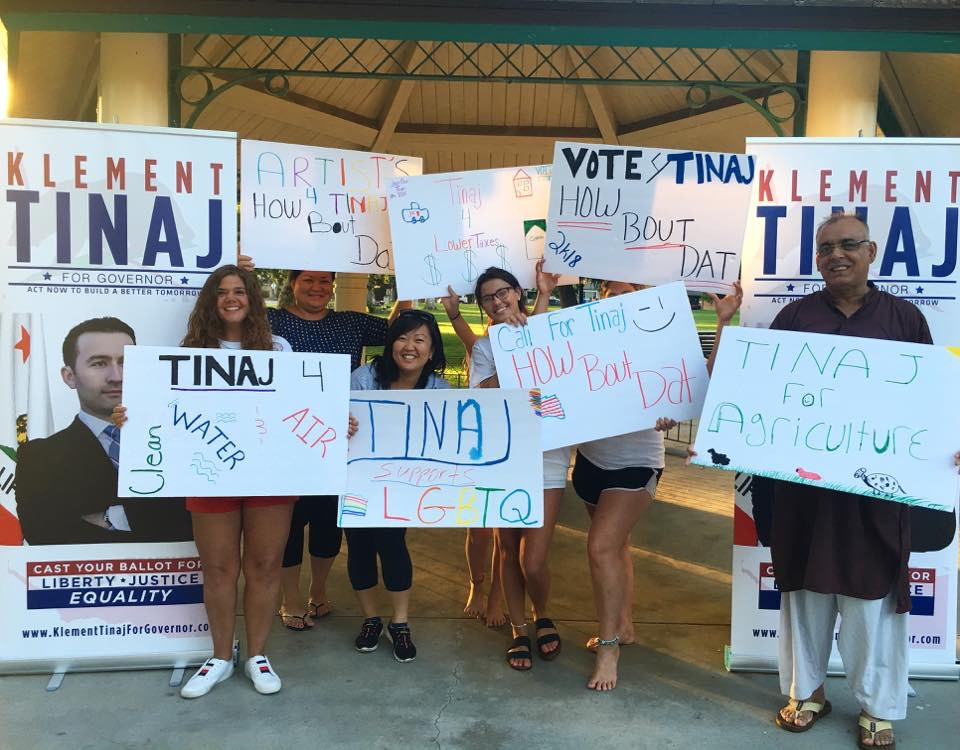 TINAJ FOR GOVERNOR