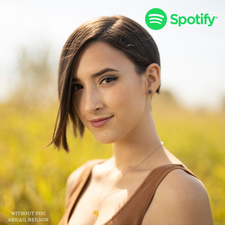 "Abigail Neilson's single ""Without You"" hits 100k Spotify streams"