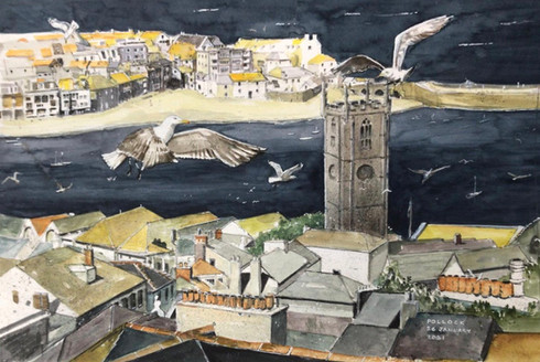 Seagulls at St Ives