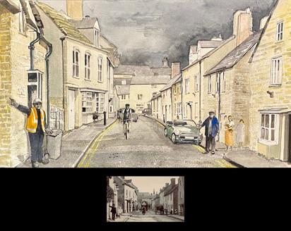 Thames Street, Charlbury 1900 & 2021