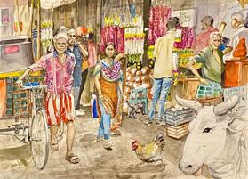 Colour Street - Madurai