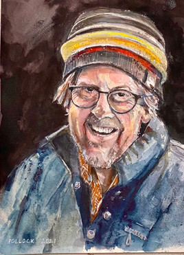 Portrait of John Lanyon