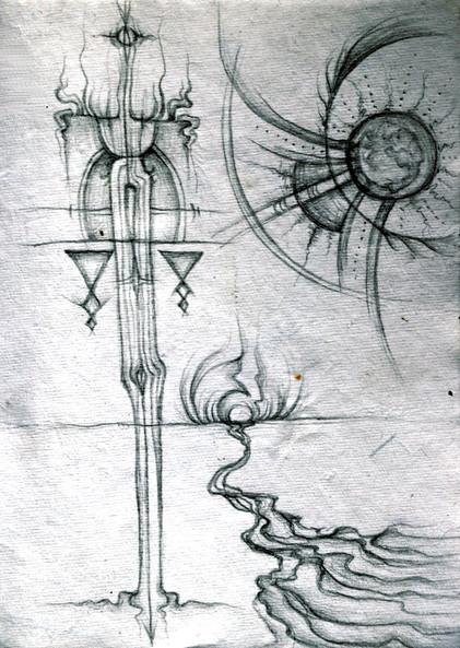 teacher-spirits / celestial bodies