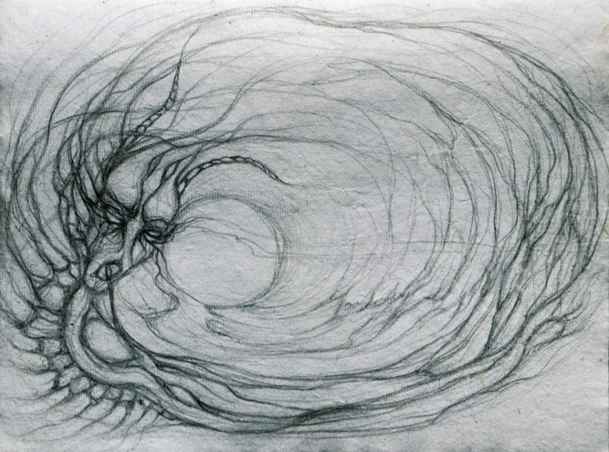 From concept series: Meditations on the Ouroboros