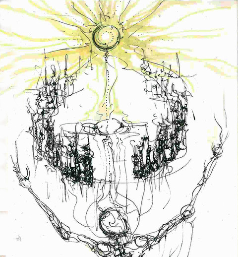 concept sketch for painting: Anihilate-OR