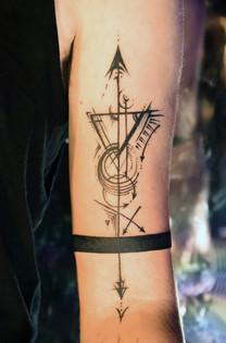 Tom's Friendship tattoo