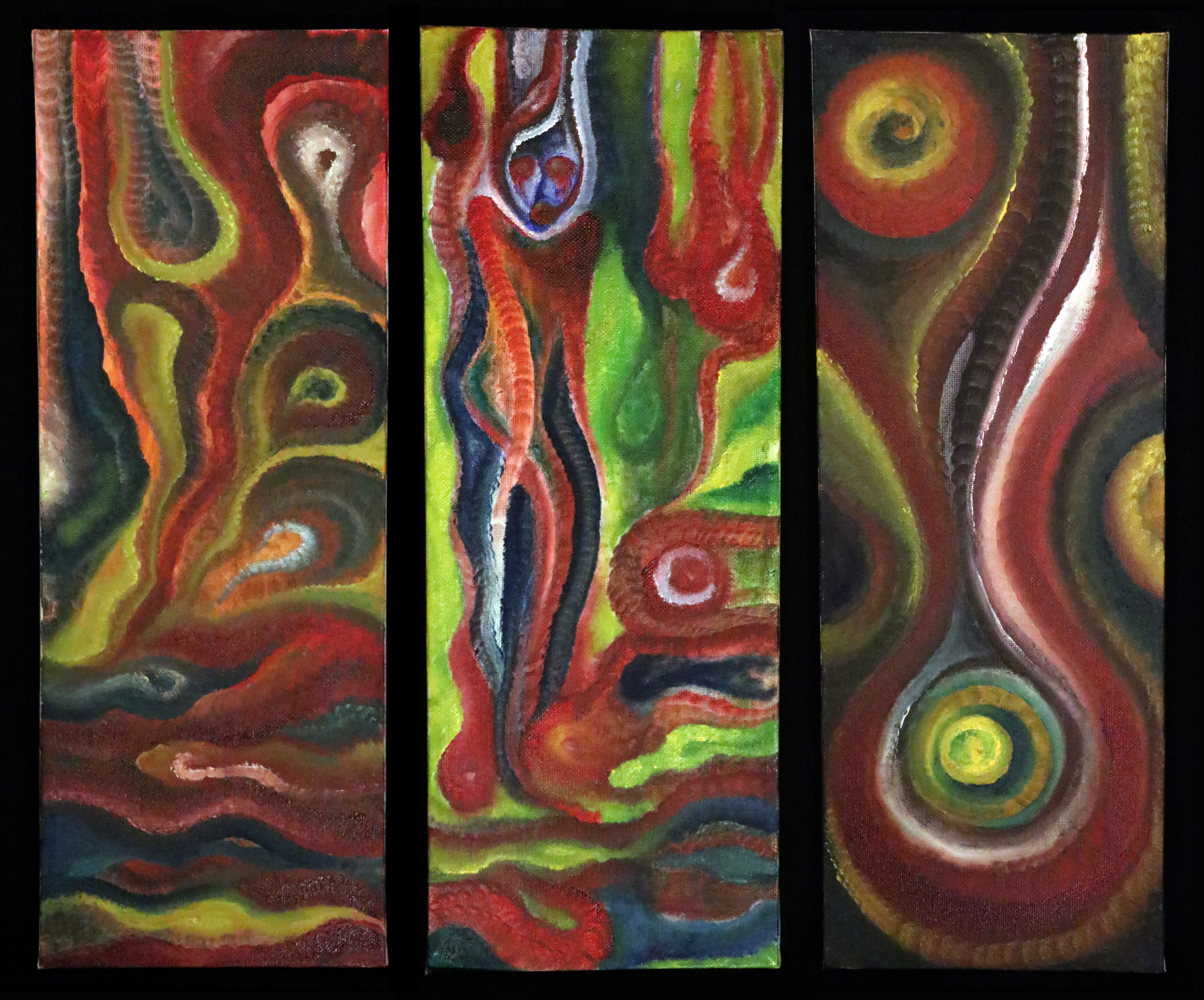 The Melting Pot - Triptych