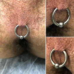 Guiche Piercing  CBR 8GA Titanium