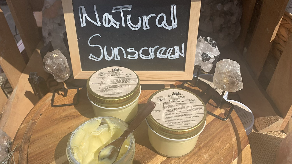 All Natural Sunscreen ( Reef Safe)