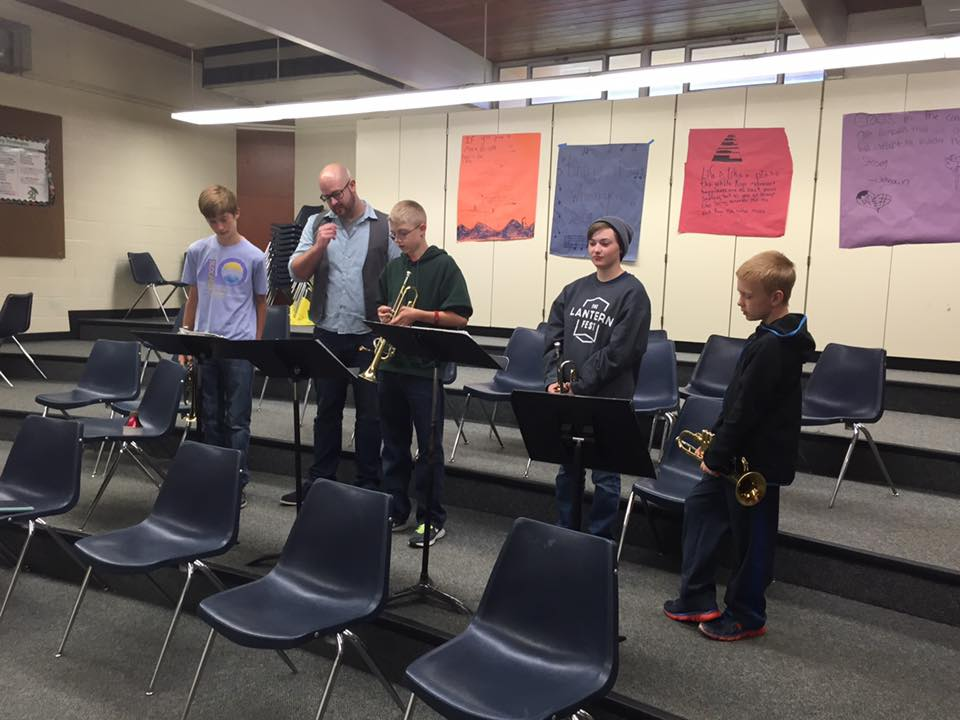 Salk Middle School Jazz Workshop