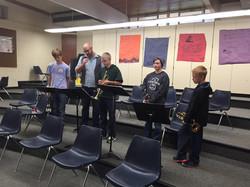 Salk Middle School Jazz Workshop
