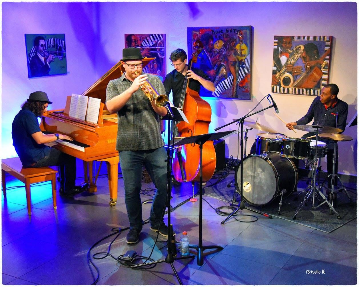 JH Quartet at WDNA Radio Sept. 2016