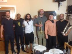 JH Quintet Recording Session