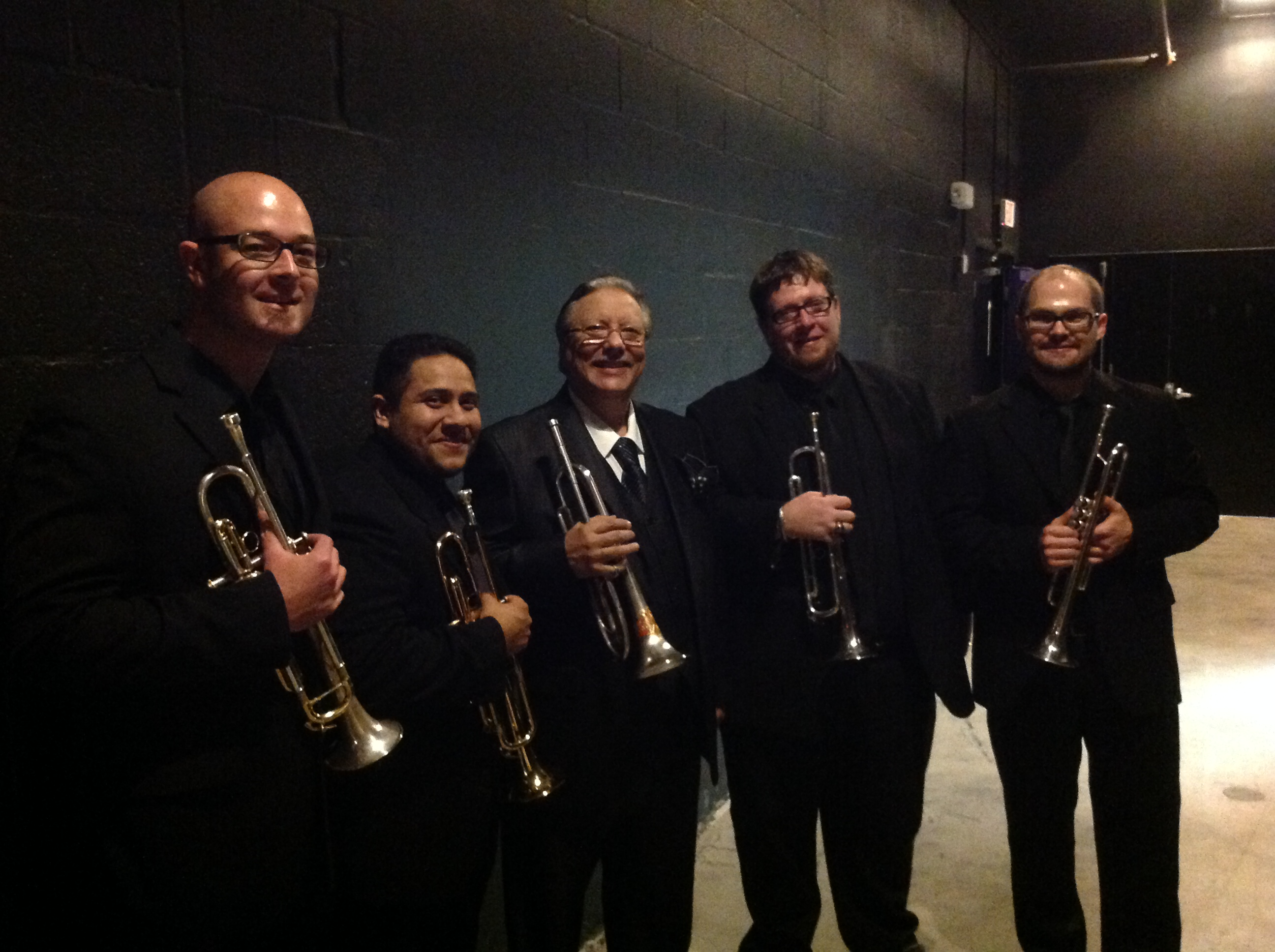 Arturo Sandoval & Trumpet Section