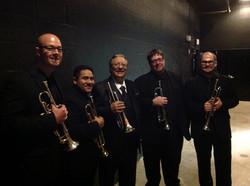 Arturo Sandoval & Trumpet Section