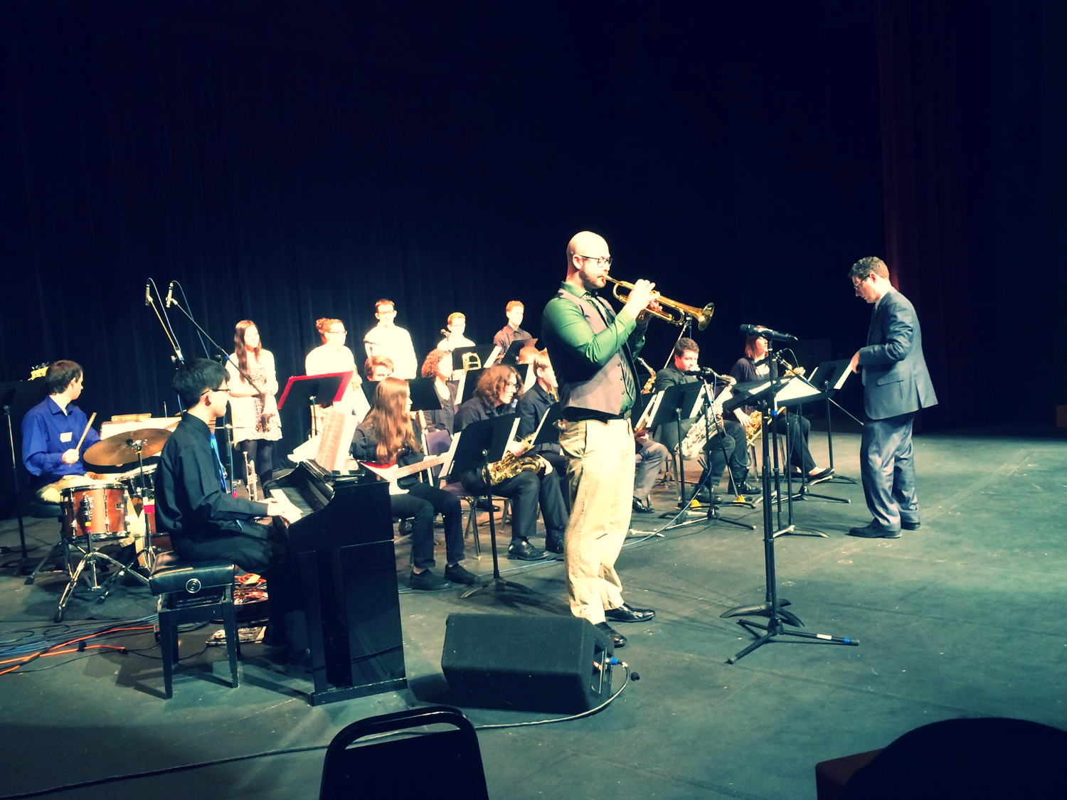 PLU Honor Jazz Band